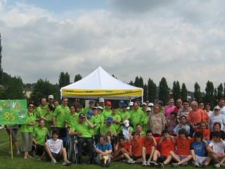 Foto di gruppo prima giornata progetto Mios a Creazzo 10062009