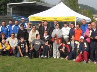 Foto di gruppo seconda giornata del progetto Mios 2009