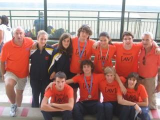 Gli allievi dell'AV ai Campionati nazionali di Grosseto