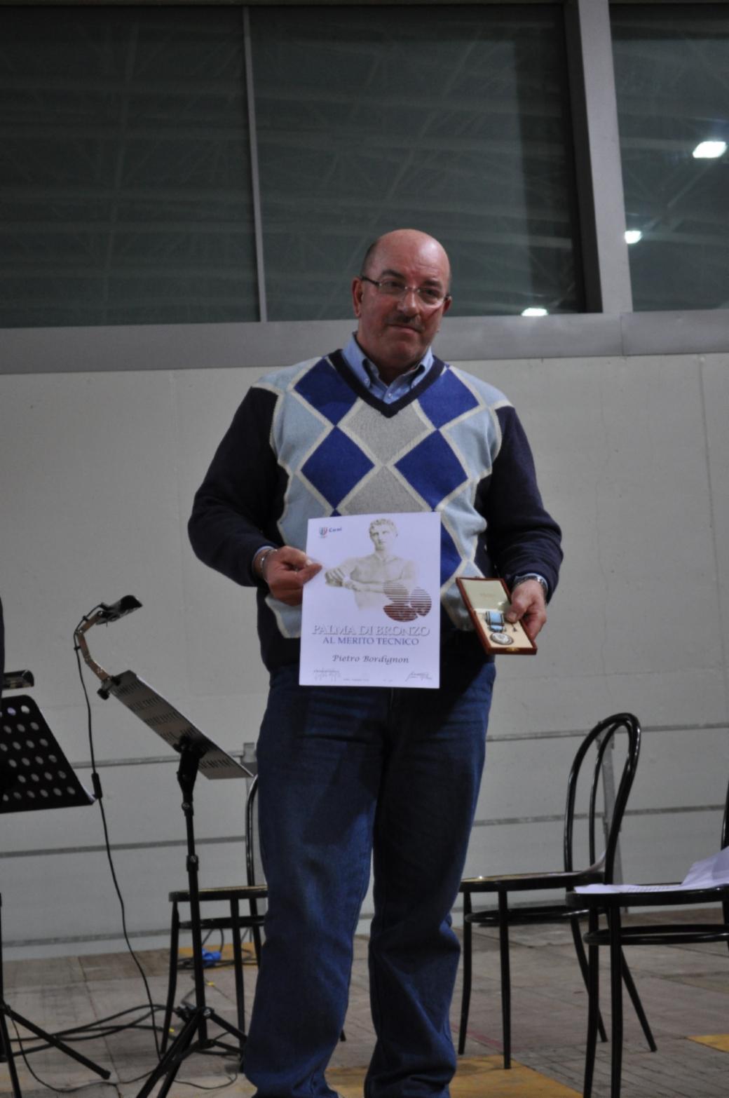 Pietro bordignon palma di bronzo al merito sportivo for Ravelli arredamenti