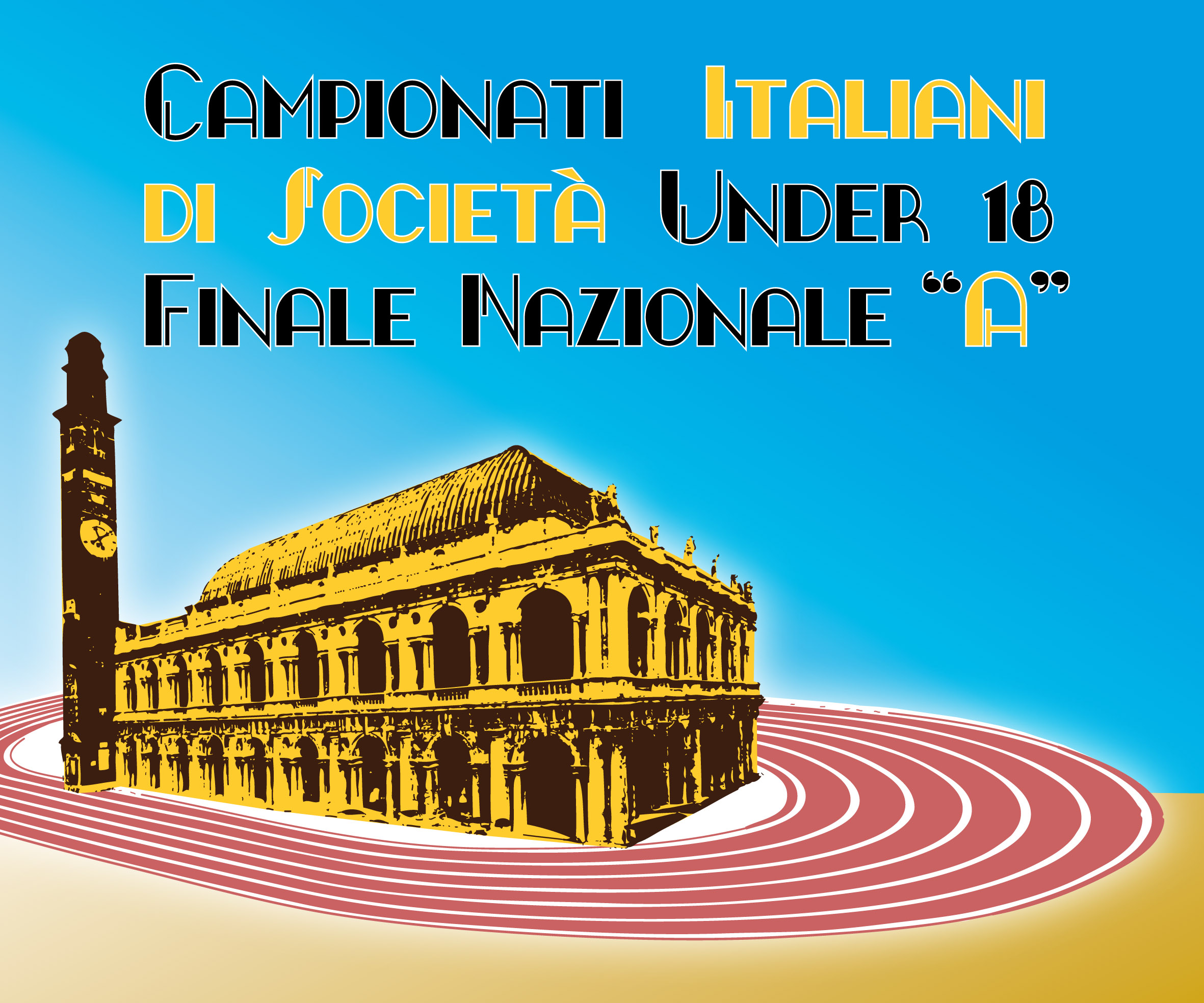 Logo finale scudetto allievi 2010 atletica vicentina for Ravelli arredamenti