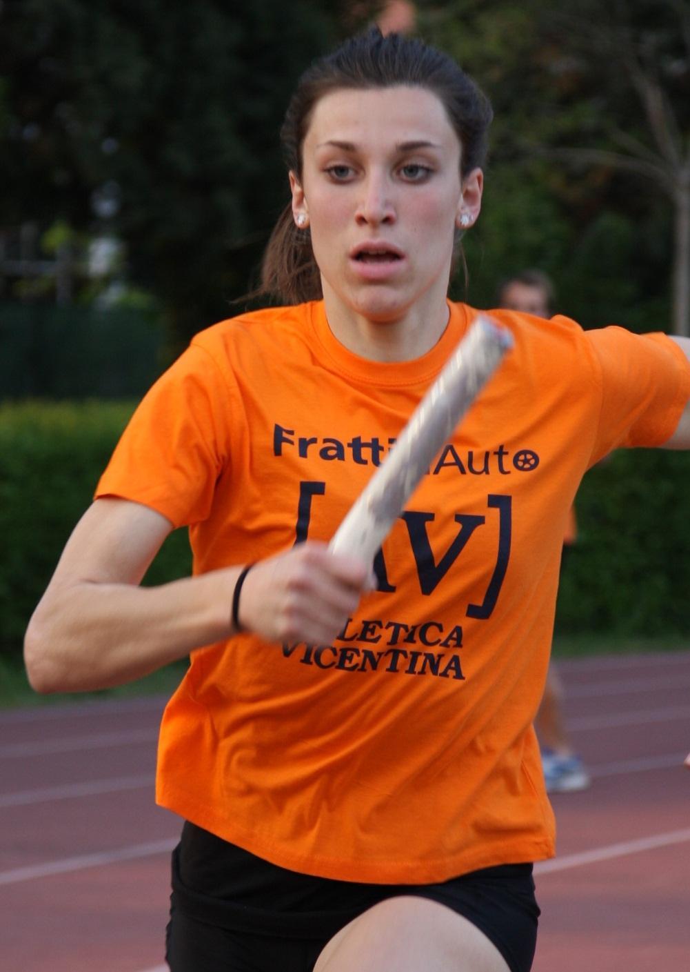 Francesca scapin atletica vicentina for Ravelli arredamenti