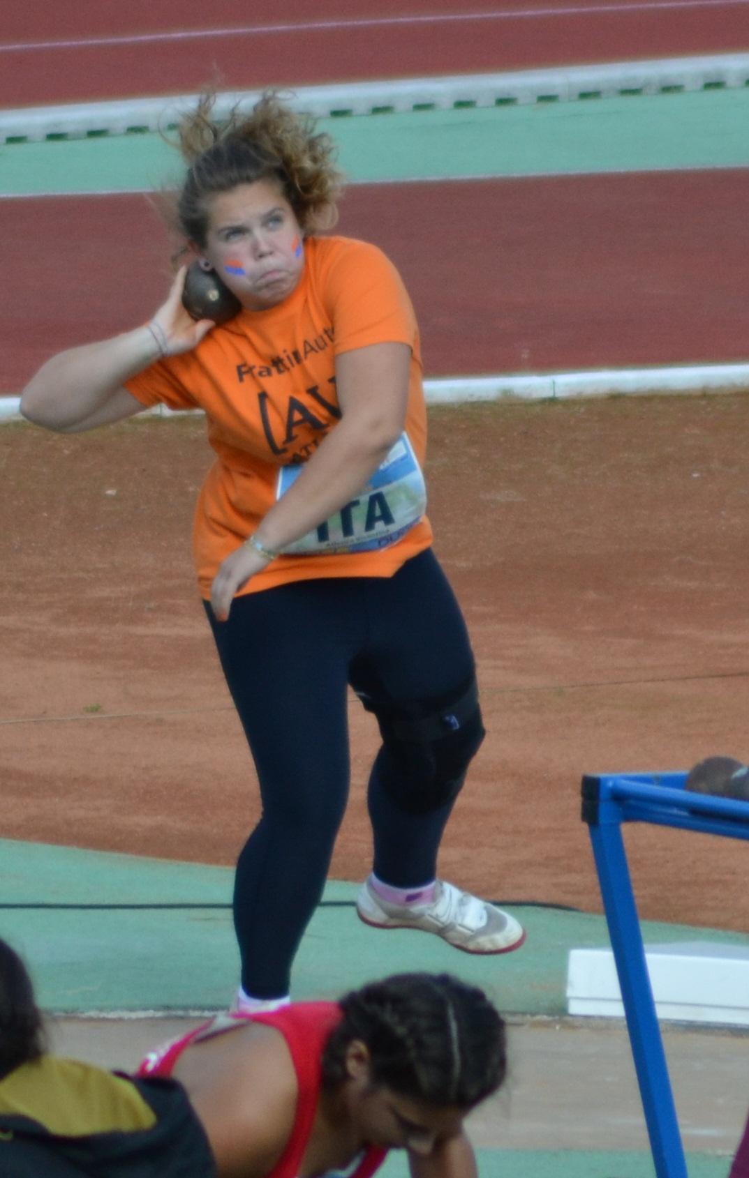Martina caron nel peso atletica vicentina for Ravelli arredamenti