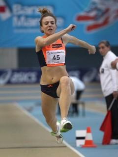 Ottavia Cestonaro campionessa e recordwoman italiana triplo
