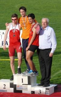 Matteo Beria podio 110hs