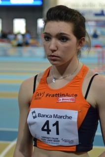Ottimo sesto posto di Beatrice Fiorese agli Assoluti