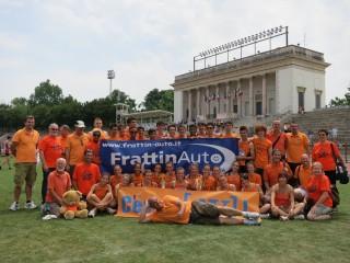 L'AV Frattin Auto un anno fa all'Arena Civica di Milano