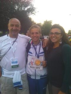 Sergio, Ottavia e Maria Vittoria Cestonaro