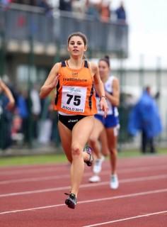 Elena Bellò, oro negli 800