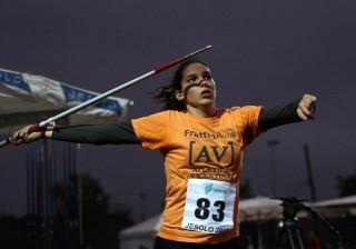 Ilaria Casarotto leader nel giavellotto Foto Colombo_Fidal