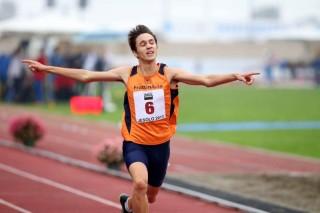 Il campionissimo delle Gymnasiadi Matteo Beria