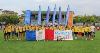 L'atletica Dueville alla Campionato nazionale Csi di pista svoltosi a Belluno