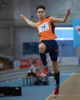 Gianluca Santuz in azione