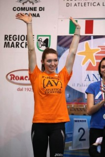 Beatrice Fiorese, AV Frattin Auto, titolo italiano triplo U18 indoor 2014