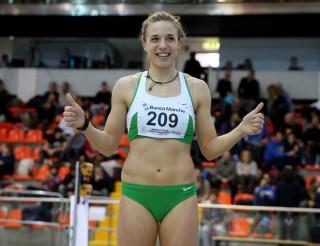 Ottavia Cestonaro, bicampionessa italiana U20 indoor