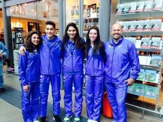 Gli azzurrini in partenza per Baku