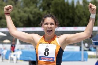 Ilaria Casarotto, recordwoman dell'AV Frattin Auto