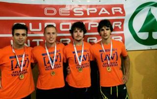La 4x100 d'oro AV Despar a Orvieto