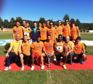 La squadra AV Despar vincitrice finale scudetto Orvieto
