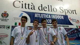 Bassan, Rancan, Tonin e Boschetto, Campioni di Italia 4x200