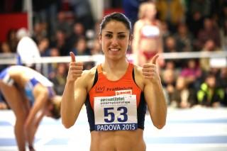 Laura Strati (AV Frattin Auto) oro assoluto a Padova 2015