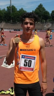 Lorenzo Pegoraro bronzo nei 400
