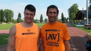 Kyler Wayne Martin con Lorenzo Pegoraro
