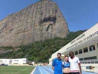 Fiorese, Zovico e Il Com. Nobrega Esercito Brasiliano