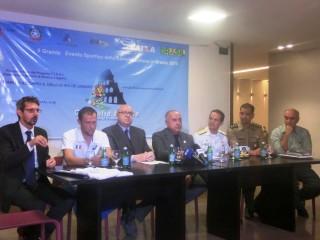 Tavolo relatori al Consolato di Rio