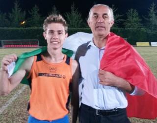 Michele Rancan ed il coach Diego Zocca