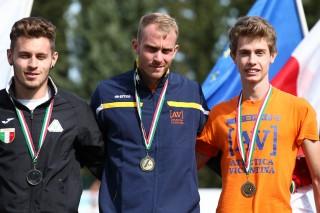 Matteo Galvan e Michele Rancan sul podio dei 200