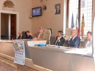 Tavolo relatori presentazione Mezza di Vicenza