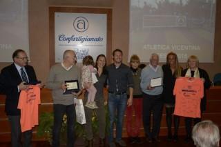 I premi speciali ad Aida Valente e a Toni Brunello