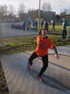 Emma Peron in azione a Rovigo