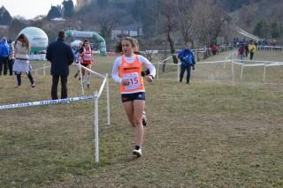 Anna Zanotto, quarta nelle junior