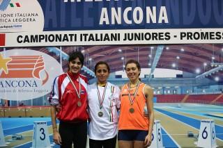 Silvia Pento, bronzo U23 negli 800/ Foto COLOMBO_FIDAL