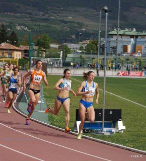 Elena Bellò e Nicole Pozzer impegnate nei 600