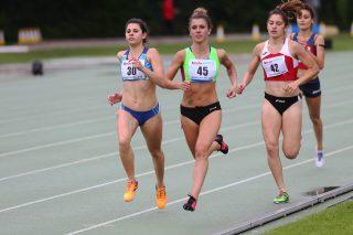 Elena Bellò trionfa negli 800/ Foto COLOMBO_FIDAL
