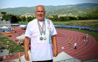 Natale Ventura rientra da Arezzo con un oro ed un argento