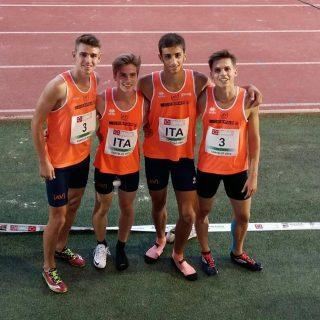 La 4x 100, bronzo a Castellon