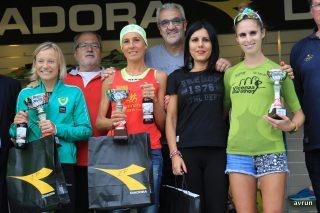 Il podio femminile/ Foto_Saccardo