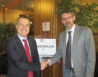 Christian Zovico e Francesco Uguagliati, i due sfidanti alla presidenza